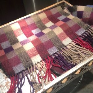 Manhattan hat company cashmere feel scarf NWOT